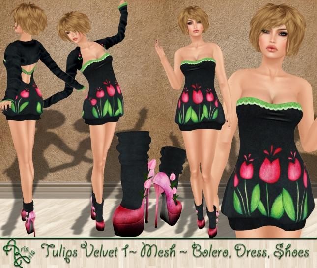 ***ArisAris Rig21 Tulips Velvet 1 Pic